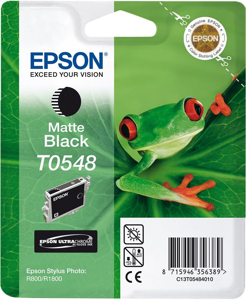Epson T0548 mat zwart