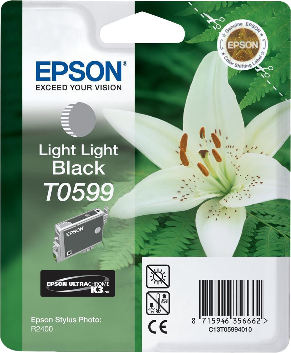 Epson T0599 licht licht zwart
