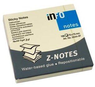 infoNotes Sticky Notes Z-Notes 75x75mm