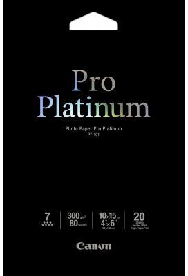 Canon PT-101 Professioneel 10x15 Fotopapier Platinum wit