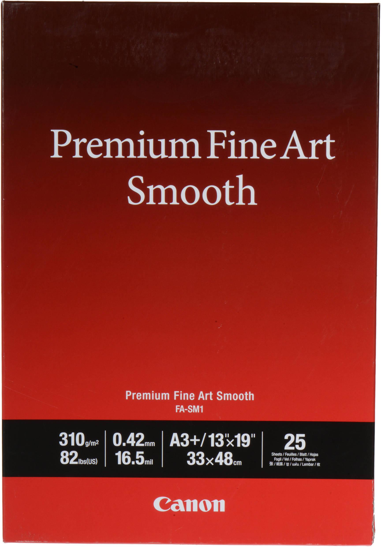 Canon  Fine Art Smooth fotopapier A3+  | Overige | 310 gr/m² 25 stuks