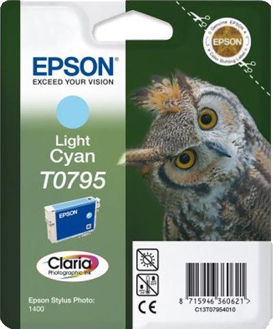 Epson T0795 licht cyaan