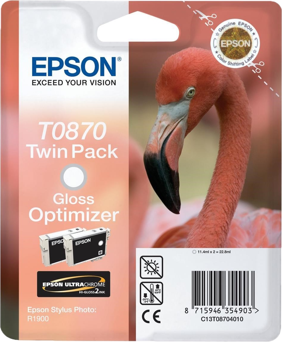 Epson T0870 glossy optimizer