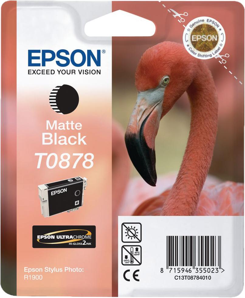 Epson T0878 mat zwart