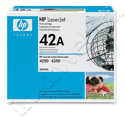HP 42A zwart