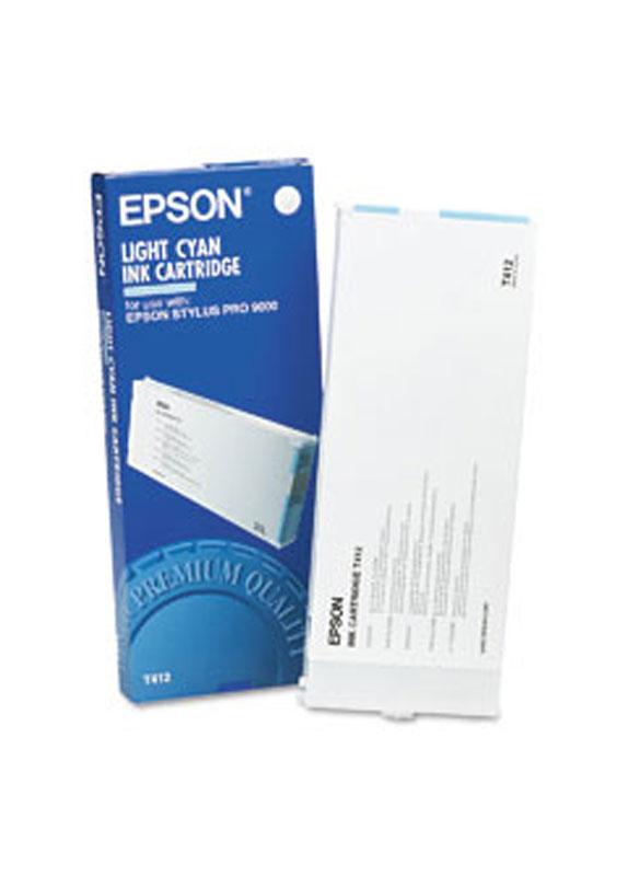 Epson T412 licht cyaan