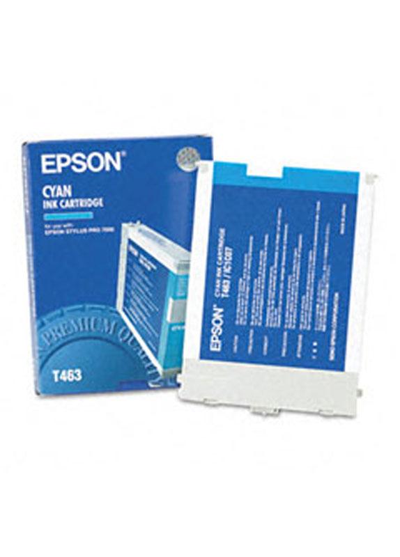 Epson T463 cyaan