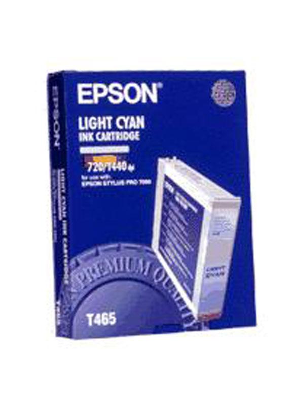 Epson T465 licht cyaan