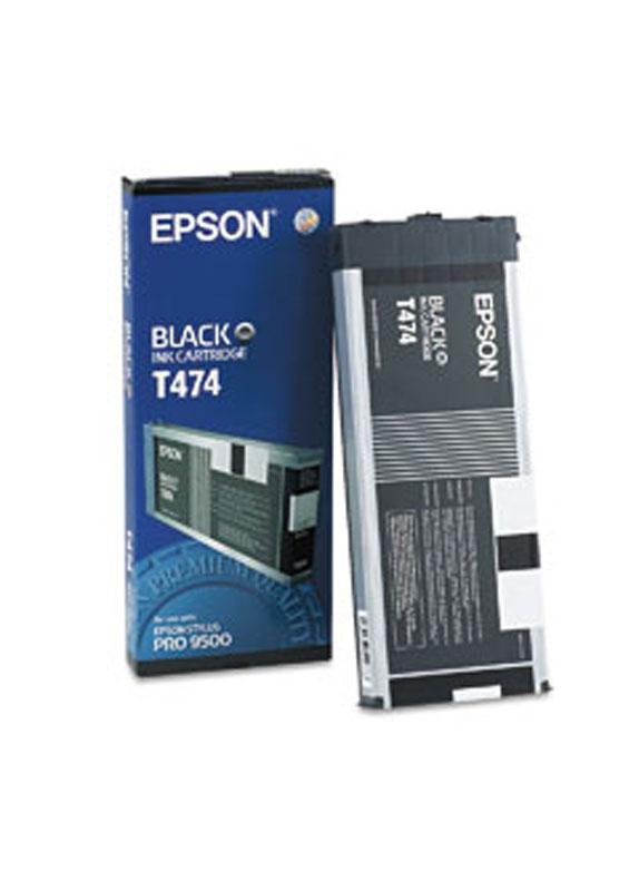 Epson T474 zwart