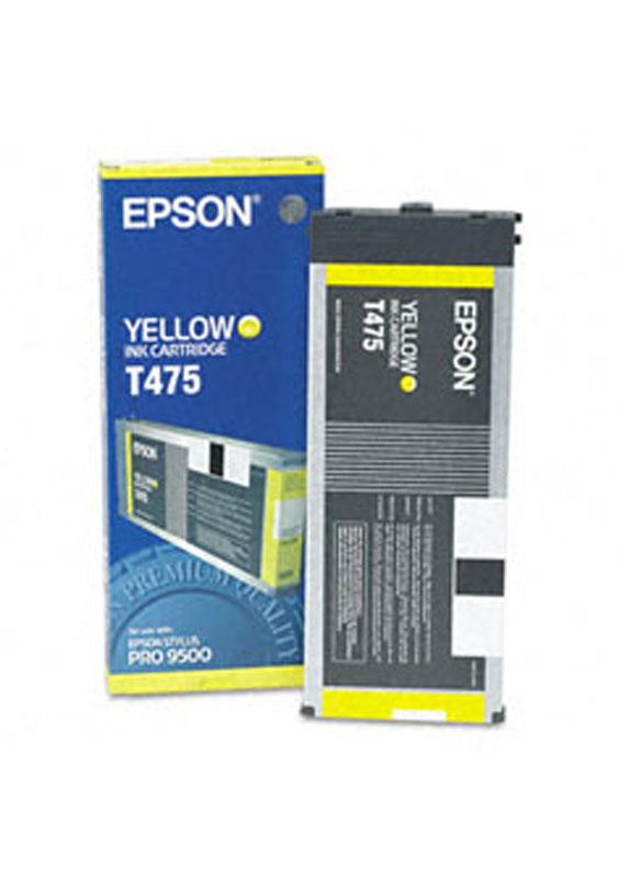 Epson T475 geel