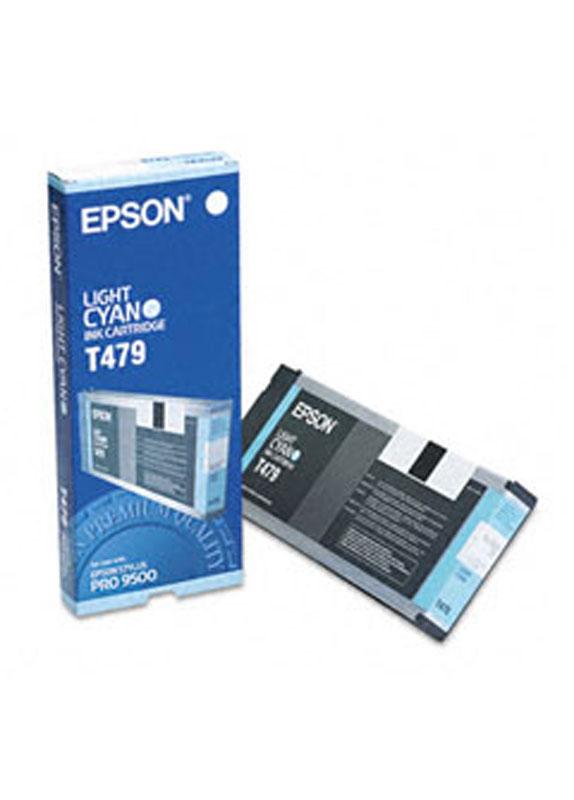 Epson T479 licht cyaan