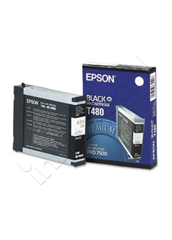 Epson T480 zwart