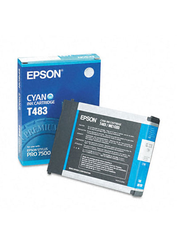 Epson T483 cyaan