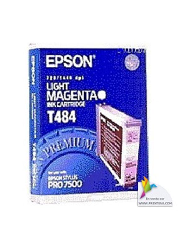 Epson T484 licht magenta