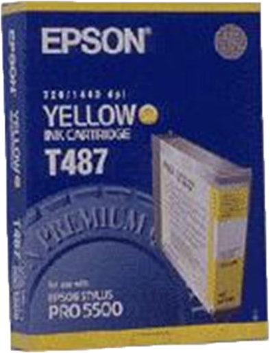 Epson T487 geel