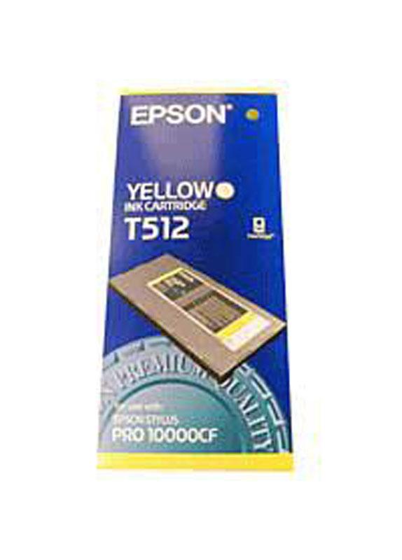 Epson T512 geel
