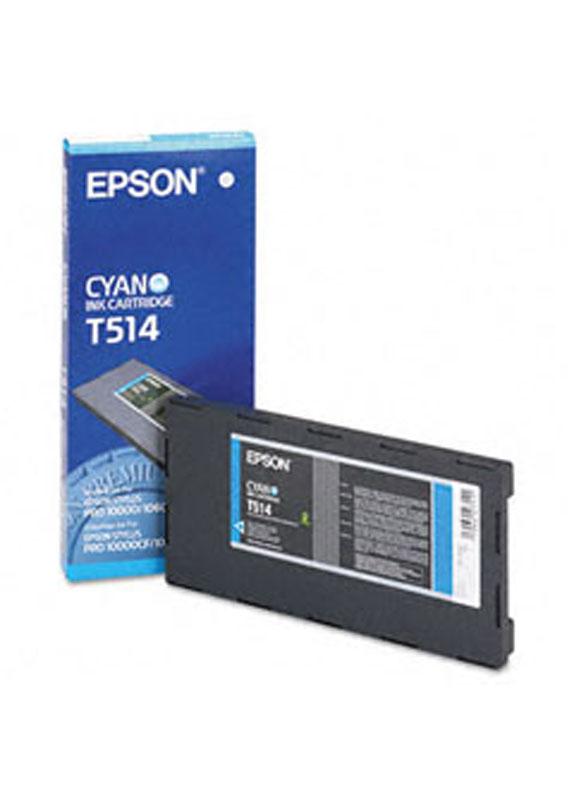 Epson T514 cyaan