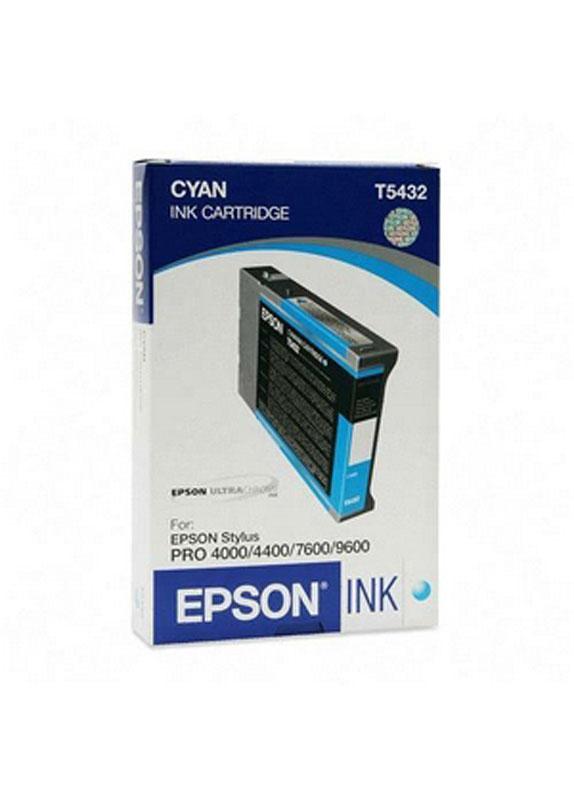 Epson T5432 cyaan