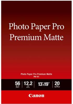 Canon PM-101 Premium Mat fotopapier A3+ wit