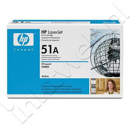 HP 51A zwart