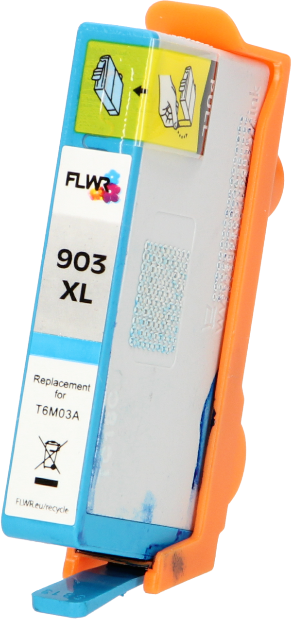 FLWR HP 903XL cyaan