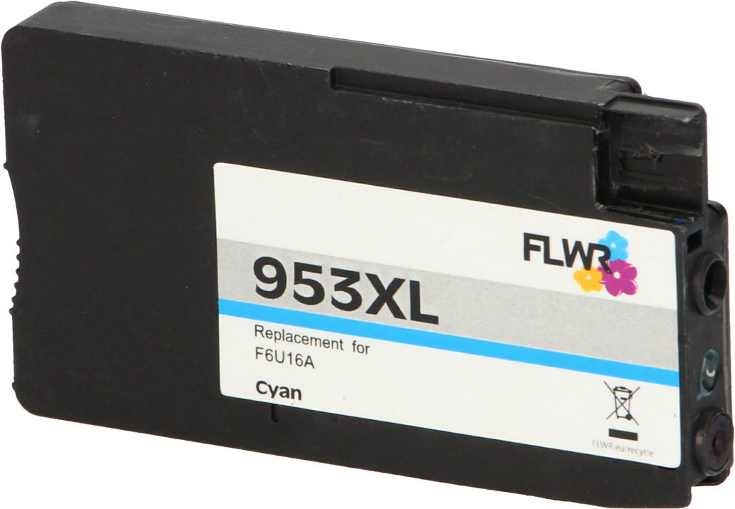 FLWR HP 953XL cyaan