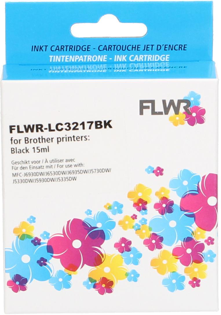 FLWR Brother LC-3217BK zwart
