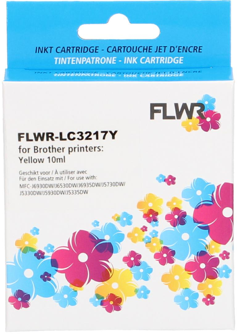 FLWR Brother LC-3217Y geel