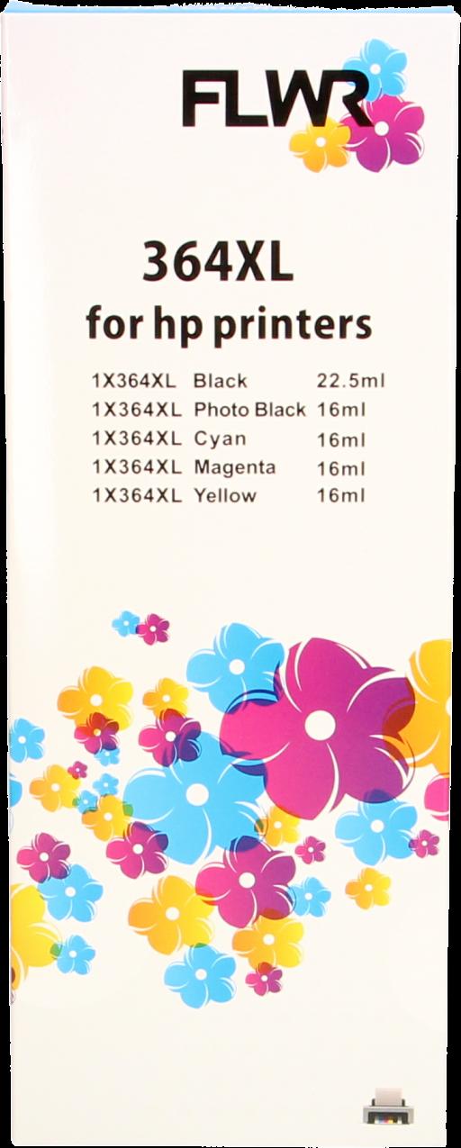 HP 364XL Multipack zwart en kleur