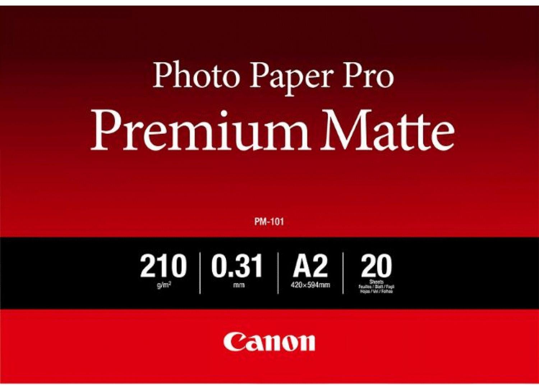 Canon PM-101 Premium Mat A2 fotopapier