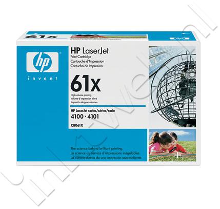 HP 61X hc zwart