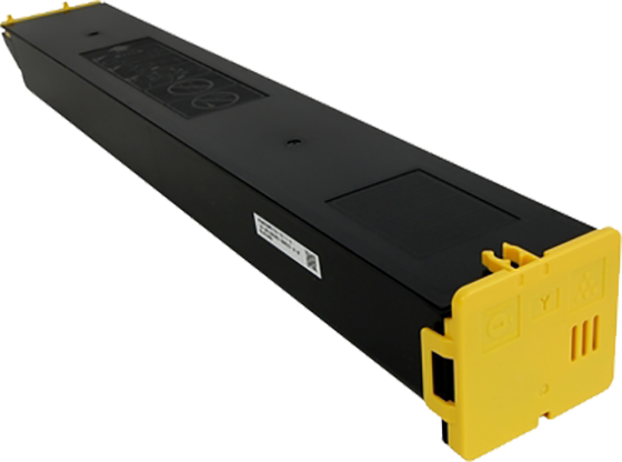 Huismerk Sharp MX-60 geel