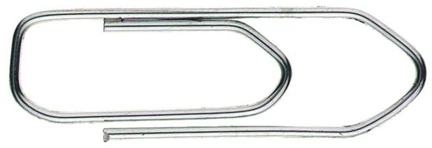 Alco hoekig/spits paperclips 32mm (100 stuks)