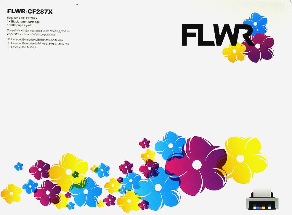 FLWR HP 87X zwart