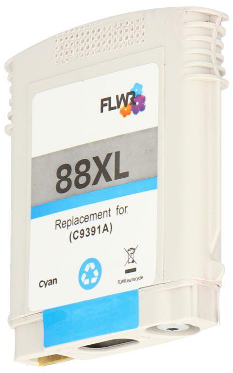 FLWR HP 88XL 4-pack zwart en kleur