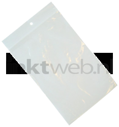 Merkloos Gripsealzakje 160 x 220mm 100 stuks transparant
