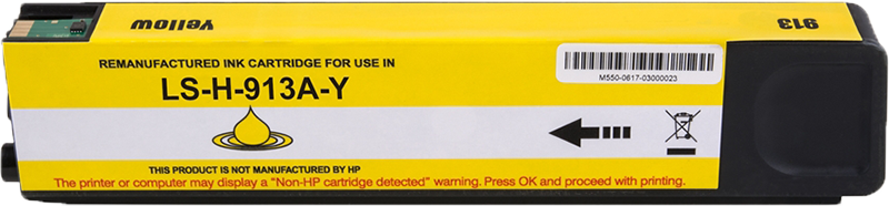 Huismerk HP 913A geel