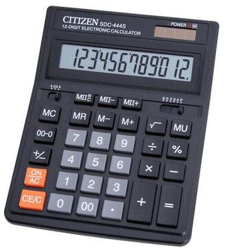 Citizen SDC444S rekenmachine zwart