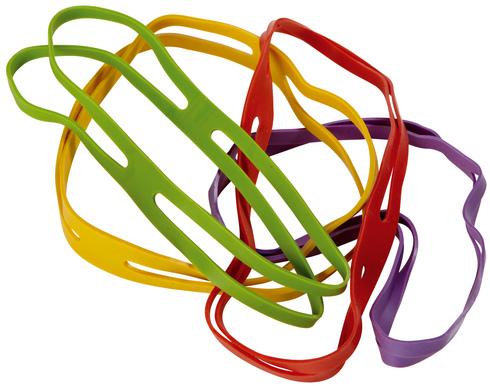 Alco kruisbandelastiek assorti kleur