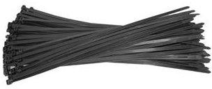 Raadhuis kabelbinders 4,8x200mm zwart