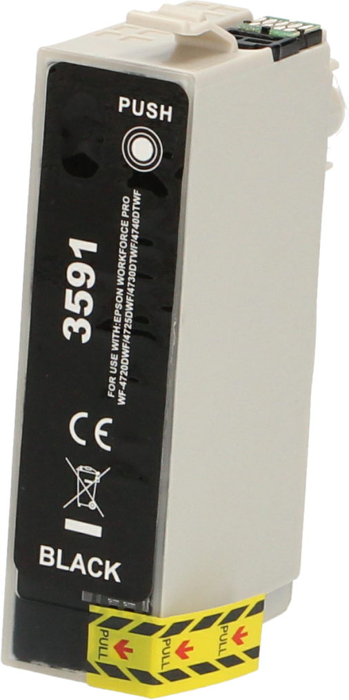 Huismerk Epson 35XL zwart