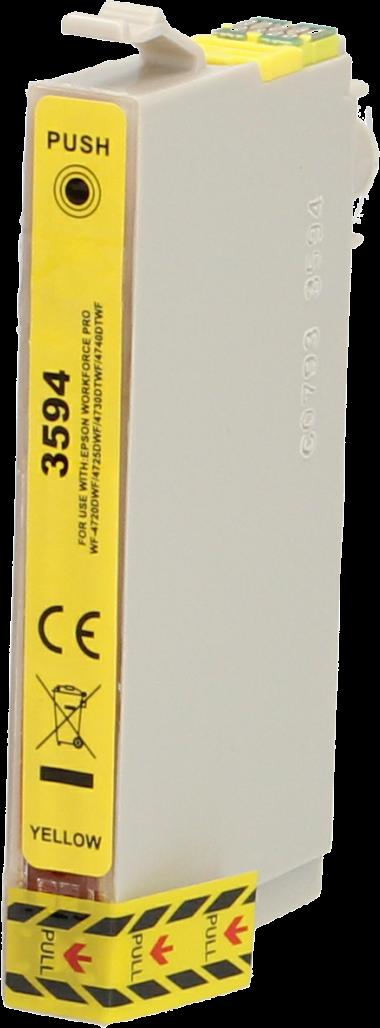 Huismerk Epson 35XL geel