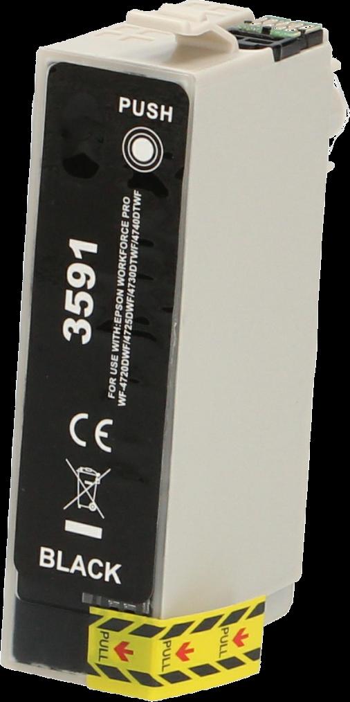 FLWR Epson 35XL zwart en kleur