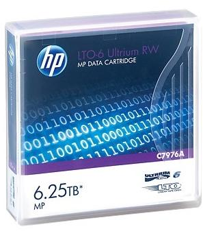 HP DC Ultrium 6.25 TB Data cartridge
