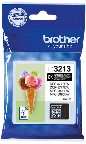 Brother LC-3213 zwart