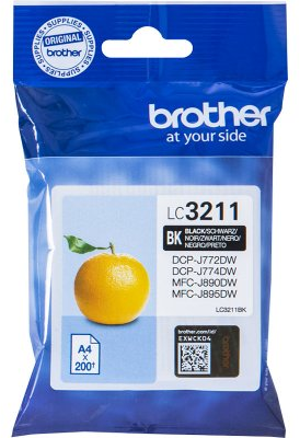 Brother LC-3211 zwart