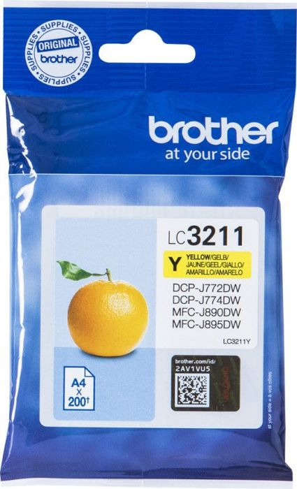 Brother LC-3211 geel