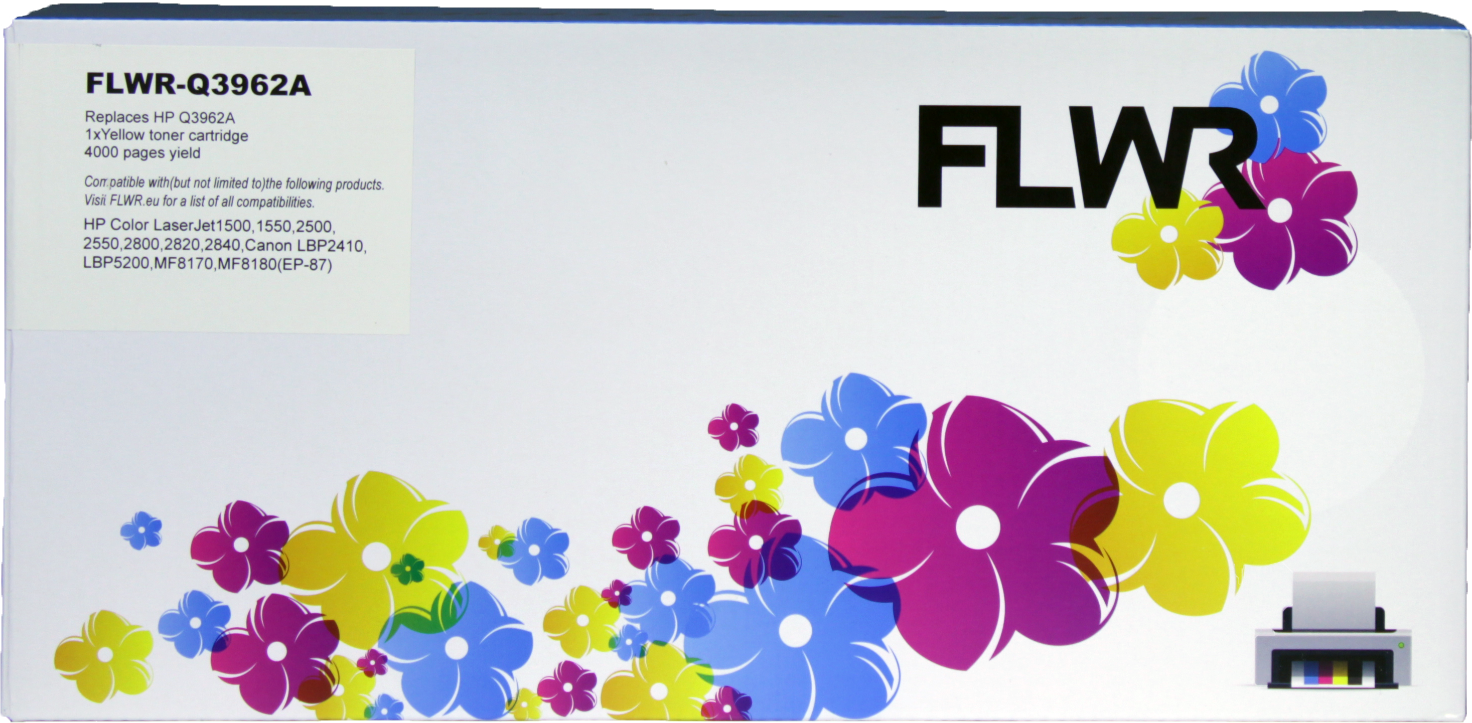 FLWR HP 122A geel