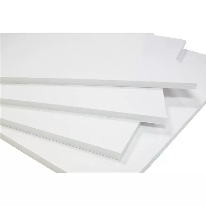 White label foamboard A3 wit