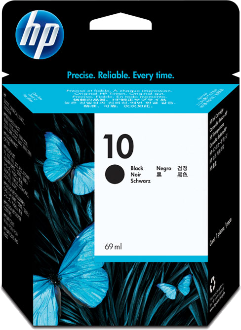 HP 10 zwart